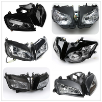 Plastic Headlight Assembly Headlamp House Cover For Honda CBR 1000RR CBR1000RR CBR600RR CBR 600RR F5
