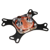 New CPU Water Cooling Block Waterblock 50mm Copper Base Cool Inner Channel High Quality Computer Water