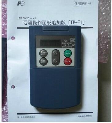 Inverter operation panel TP-E1 inverter operation panel fr pu03e