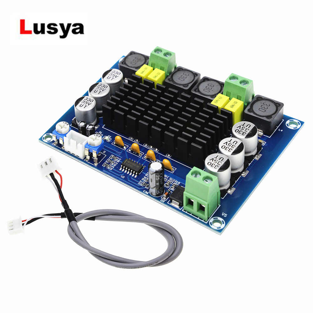 TPA3116D2 Digital Power Amplifier Board Dual-channel DC12-26V Audio Amplification TPA3116 D2 2*120W Amplifiers Plate C3-002