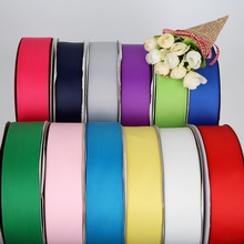 New Grosgrain Ribbon 7/10/15/20/25/38mm 5yards Decorative Satin Ribbon For DIY Bow Craft Decor Wedding Party Decoration Gift