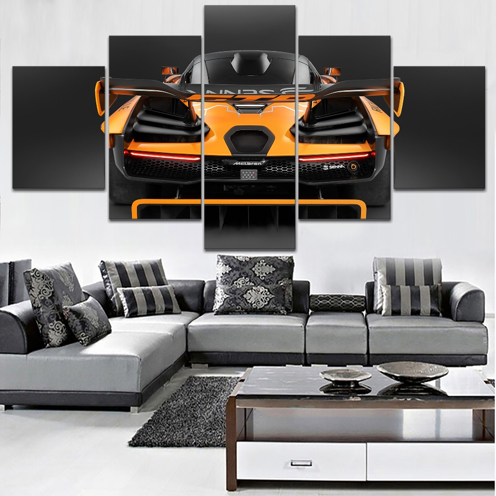 one-set-modular-style-picture-home-decor-living-room-wall-5-panel-canvas-art-print-mclaren-font-b-senna-b-font-gtr-concept-rear-4-painting