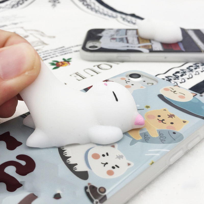 Squishy Animals For Phone : Special Offer! Squishy Lazy Cat Case for iPhone