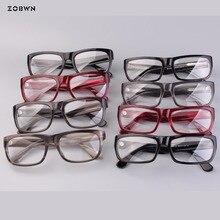 Mix wholesale retro glasses Fashion Myopia for reading lens Eyewear Frames Female Male Business Style old man Eyeglasses