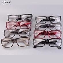 e34dff0f95 Mix wholesale retro glasses Fashion Myopia glasses for reading lens Eyewear  Frames Female Male Business Style old man Eyeglasses
