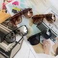 New fahion square gafas de sol de los hombres diseñador de la marca gafas de sol de buena calidad