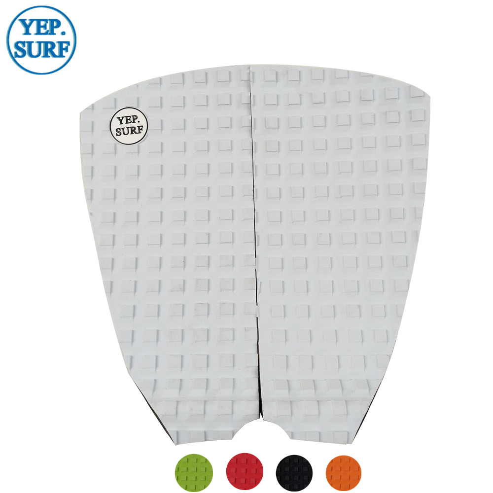 Free Shipping EVA Deck Pad White Pad Surfboard Traction Pad Surf Pads Grip Pranchas De