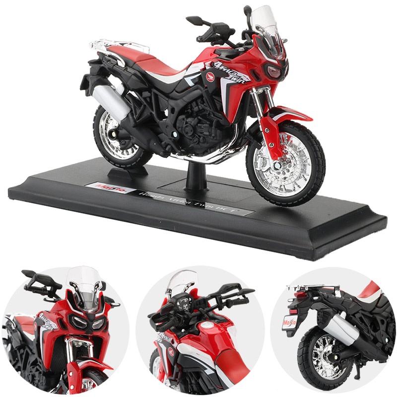 Africa Twin DCT CRF1000L Motorcycle Toy Model 4