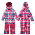 Kids/Toddler Winter Ski Suit Snow suit One Piece Girls Skiing Outerwear Warm Coats Children Waterproof Jackets & Overalls