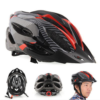 Bike Cycling Helmet Professional Bicycle Racing Safety Helmet Adult Mens Bike  Helmet Carbon Fiber Red Blue With Visor Mountain ba3da88e5c