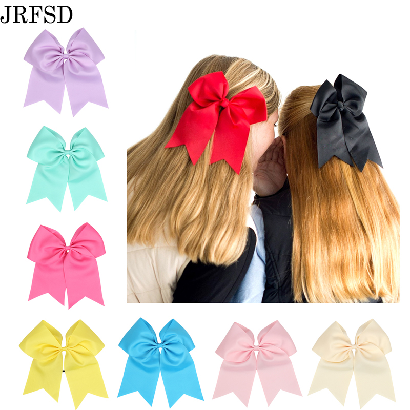 JRFSD 20 Colors Kids Bows Rubber Bands Bow Hair Band Turban Ribbon Hair Accessories Elastic Hair band For Kids H198 metting joura vintage bohemian ethnic tribal flower print stone handmade elastic headband hair band design hair accessories