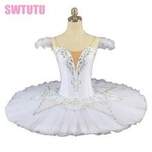 white swan lake professional tutu girls ballerina tutu women platter tutu women pancake ballet tutu performance adult BT9076