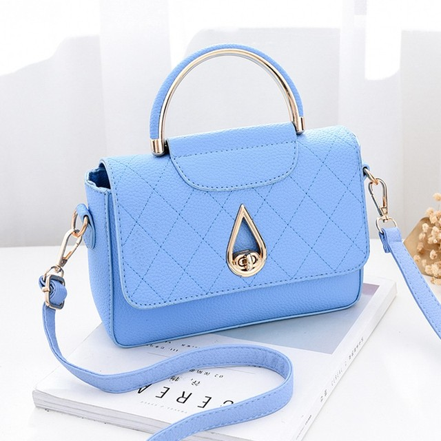 df1409d5b42 Women messenger bags new spring summer 2018 inclined shoulder bag women s  leather handbags Bag ladies hand bags MinYue