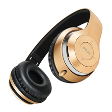 Stereo Handsfree Headfone Casque Audio Bluetooth Headset Earphone Cordless Wireless Headphone for Computer PC Aux Head Phone Set