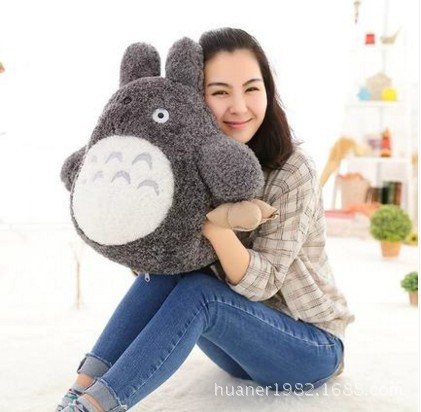 My warm hand warmer pillow Cartoon My Neighbor Totoro plush toys Winter to send girlfriend Christmas gifts
