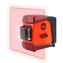Firecore A8846 Mini 4 Lignes 360 Degrés Rouge Laser Niveau (Auto Auto-Nivellement Dans la Gamme de 3 degrés)