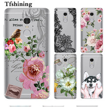 Tfshining Cases For Xiaomi Redmi Note 4X 3GB+32G Silisone Soft Back Cover Shell 4 Global Version Phone bag