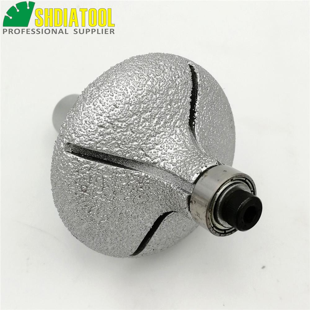 SHDIATOOL No.22 Mèches de toupie diamantées brasées sous vide avec - Outils abrasifs - Photo 6
