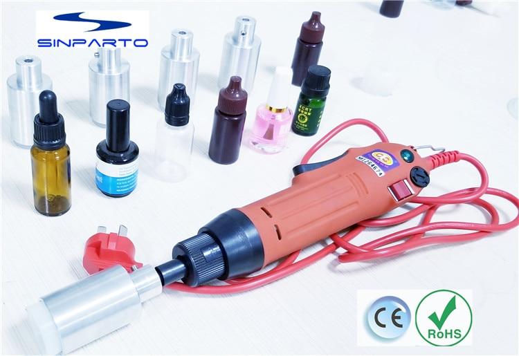 Manual Electric eliquid Capping Machine for screw cap,screw capper plastic bottle capping machine essential oil cap capper Бутылка
