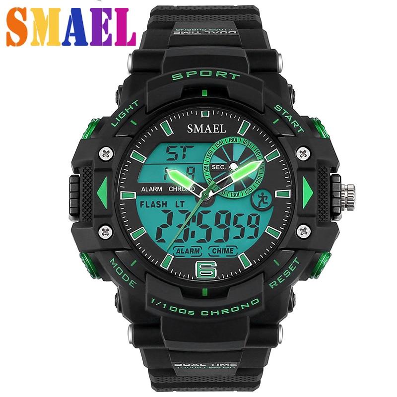 digital sport watches wristwatch waterproof led