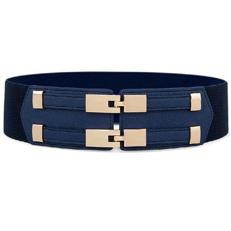 2017 korean fashion elastic belts luxury brand