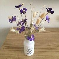 Европейский Стиль мини Стекло ваза Zakka небольшой Винтаж резные Стекло ваза для домашнего Свадебный декор Винтаж Стекло бутылка ваза для цве...
