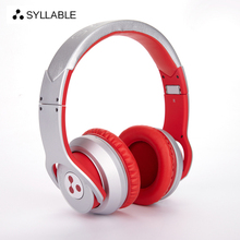 SYLLABLE G800 Bluetooth 4.0 Headphone Noise Reduction Wireless Headset with Mic Bass Headphone Over the Ear Without retail box
