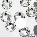 Super Deal Shiny Clear White Crystal Strass Rhinestones ss3-ss50  ALL SIZE non hotfix 3D Nail Art Decorations Flatback
