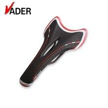 цена на 2017 Bike Saddle MTB Road Bicycle Saddle Seat  PU Leather High Quality Cycling Mountain Seat Black White Red Cr-Mo Steel VD-3412