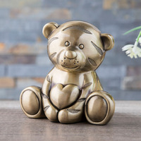 Creative Metal Money Box Cartoon tiger Money Bank Coin Piggy Bank Money Saving Box Gifts for Kids
