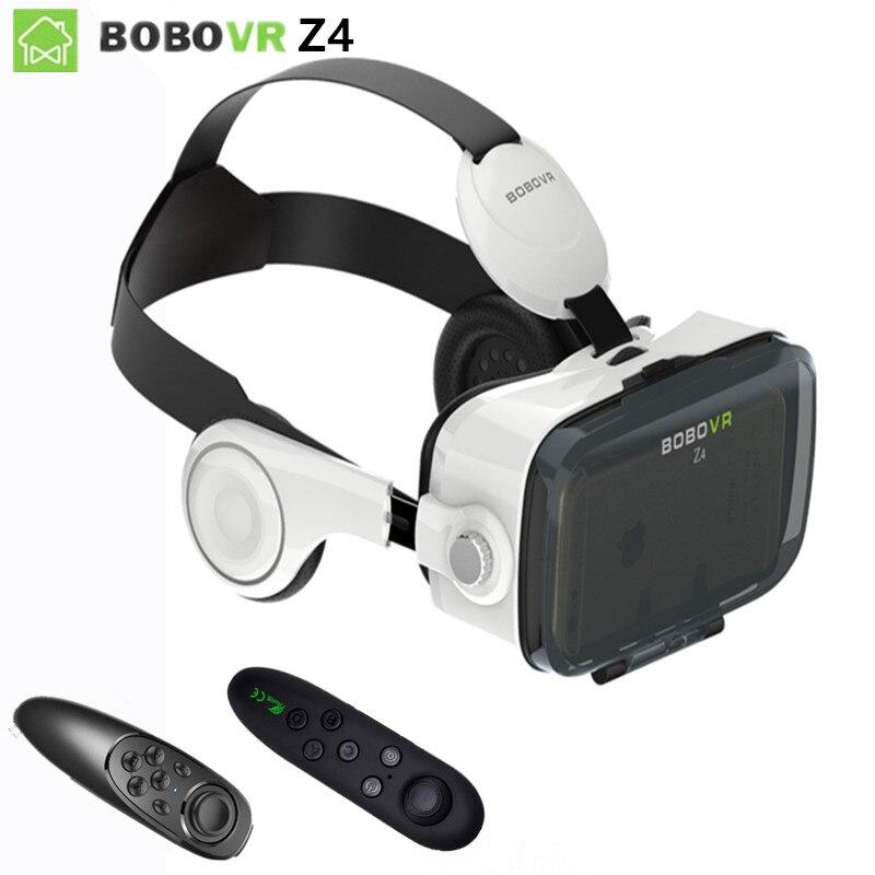 2017 google caja de cartón vr 2 xiaozhai bobo vr z4 Realidad Virtual 3D Glasses