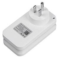 Wifi Switch Ws2 Smart Socket For Apple Homekit Alexa Google Home Us Adapter App Voice Remote Control Us Plug