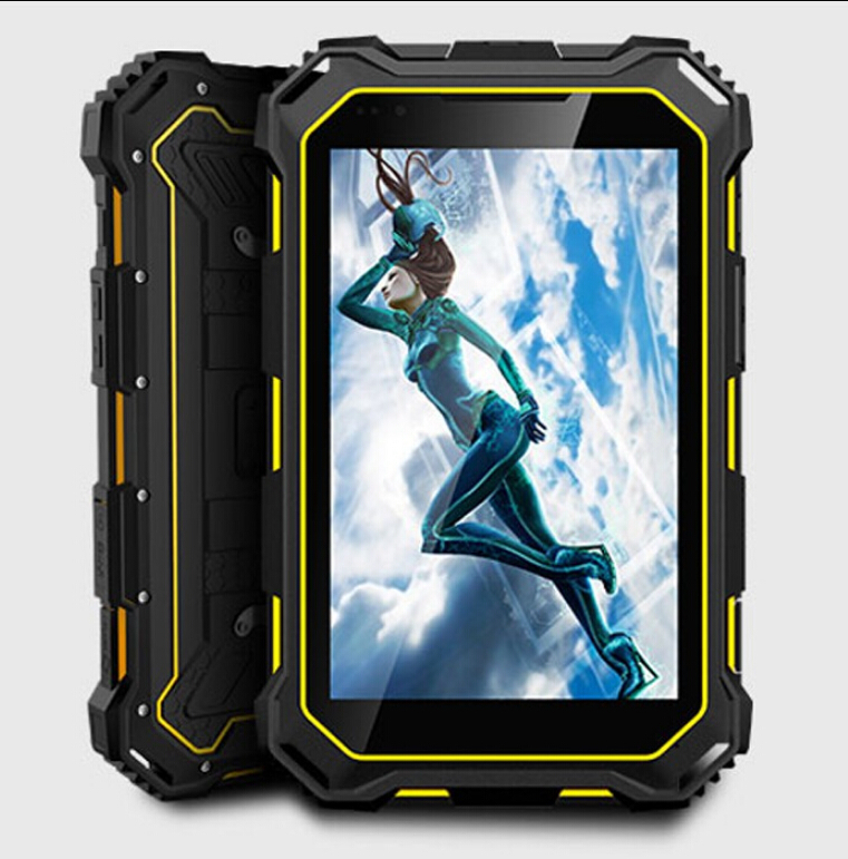 Tablet Rugged 7.0 Pollice PC V9 con il Telefono Cellulare, IP68 Impermeabile GSM/WCDMA 7000 mAH Android4.4 MTK8382 Quad core 3G tablet