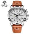 2017 Fashion watches Men Casual watch Men Business wristwatches Leather Strap Sport Military quartz watch Male Relogio Masculino