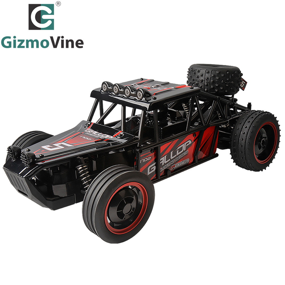 GizmoVine RC Car High Speed Dune Buggy 1:10 Scale 2.4Ghz Electric Remote Control Off road Racing Car Best Gift For Kids Boys Toy