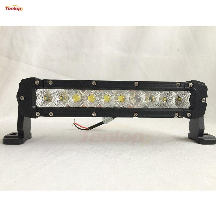 Light Sourcing 12 Inch 3D Lens 50W Light Bar For Offroad Wrangler ATV SUV Boat 12V 24V