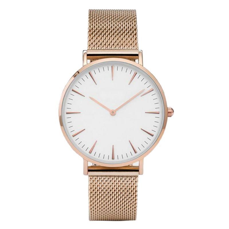 MJARTORIA Luxury Clock Watch Alloy Stainless Steel Mesh Band Watch Lady Quartz Wrist Gauge Rose Gold Color Strap Women Watch цена и фото
