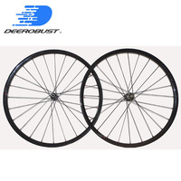 1184g Lightest QR/Thru Axle 24mm Straight Pull Carbon Clincher MTB XC Wheels 26er 27.5er 29er Mountain Bike Wheelset 24 28 Holes