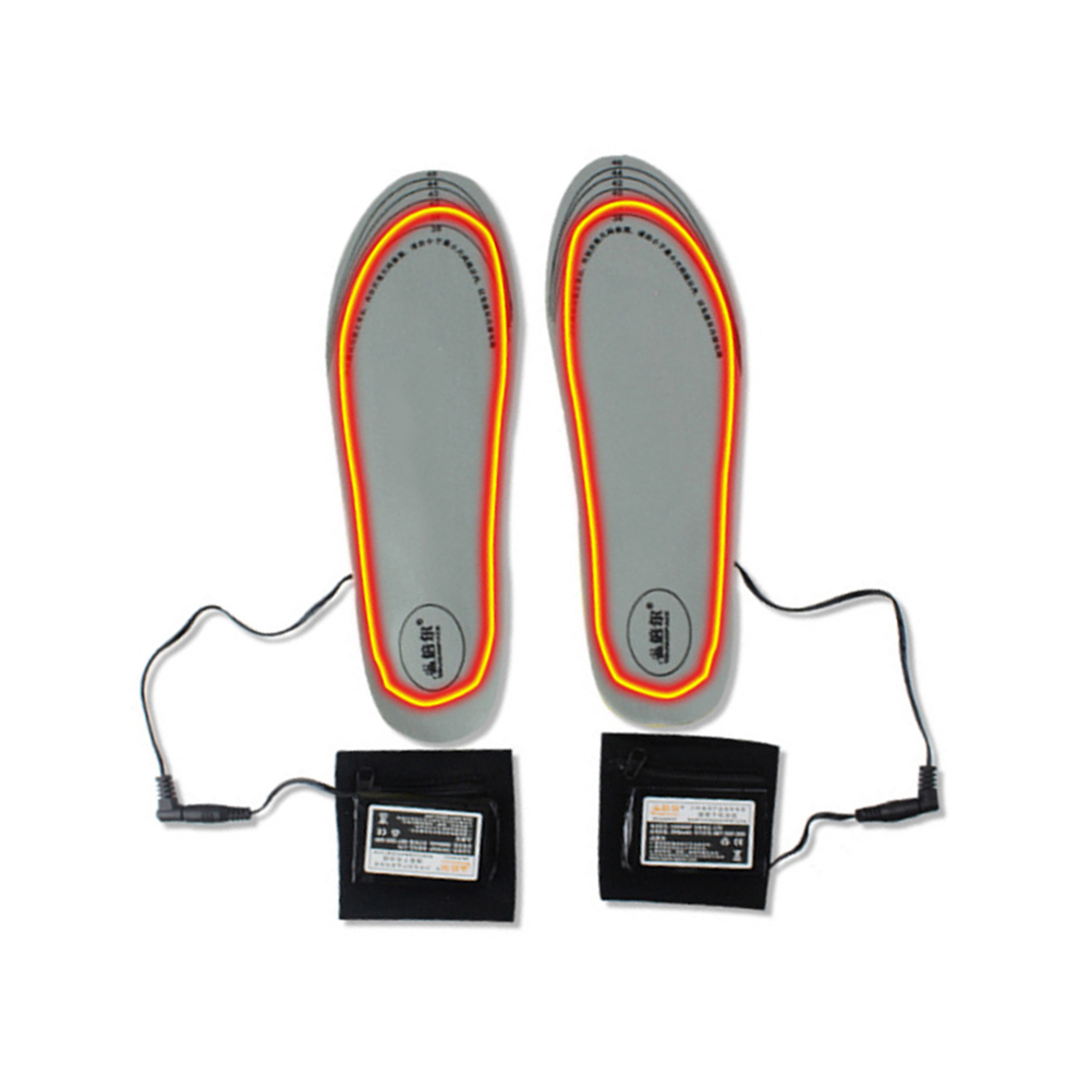 New Tailorable 8H Heated Warming Rechargeable Electric Heating Insoles Outdoor Sports Walking Women Men Insoles US/EU Plug