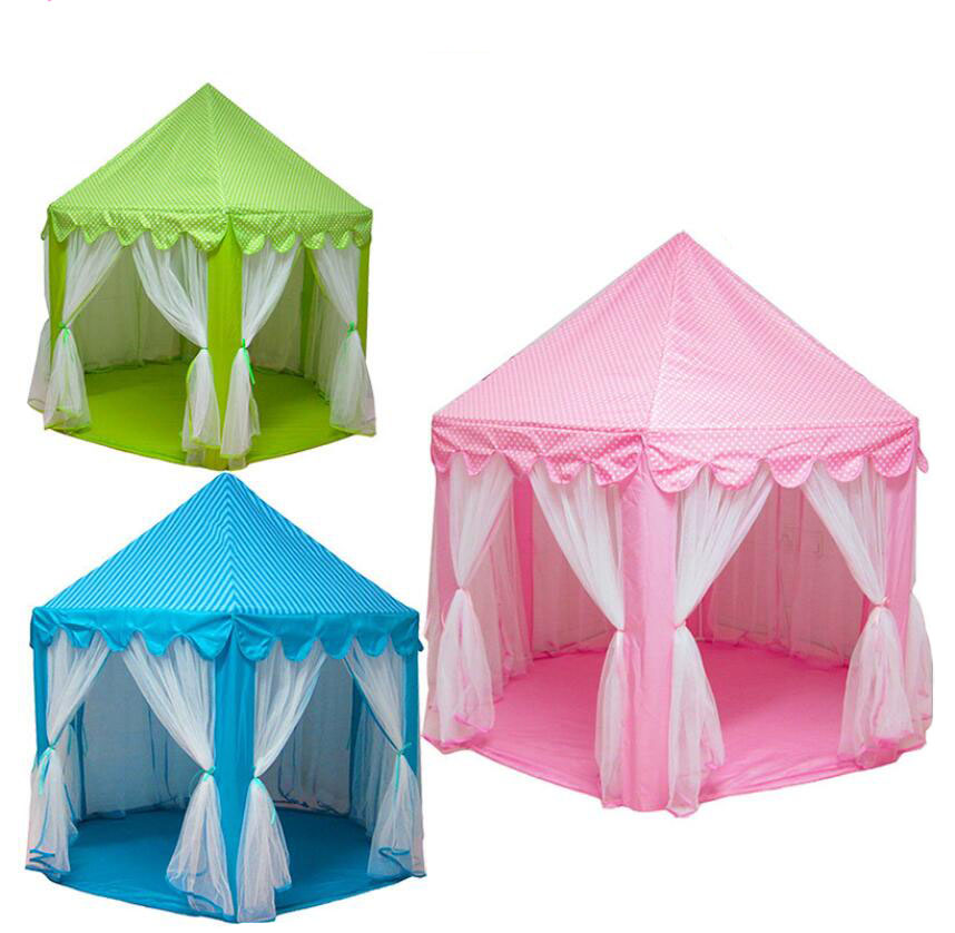 2017 New Play Tent Portable Foldable Princess Folding Tent Children Castle Play House Kids Gifts Outdoor Toy Tents For Kid-in Toy Tents from Toys u0026 Hobbies ...  sc 1 st  AliExpress.com & 2017 New Play Tent Portable Foldable Princess Folding Tent ...