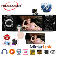 auto audio Mirror Link radio cassette player Car MP5 Player Car Radio Touch Screen Rear view camera Stereo auto tapes 4 1 Din