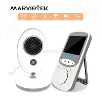 VB605 Wireless LCD Audio Video Baby Monitor Radio Nanny Music Intercom IR 24h Portable Baby Camera Baby Walkie Talkie Babysitter
