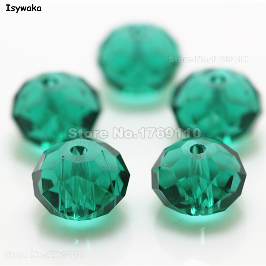 Beads & Jewelry Making Beads 100% Quality Isywaka Green Golden Colors 4mm 145pcs Rondelle Austria Crystal Glass Beads Loose Faceted Round Beads Jewelry Making
