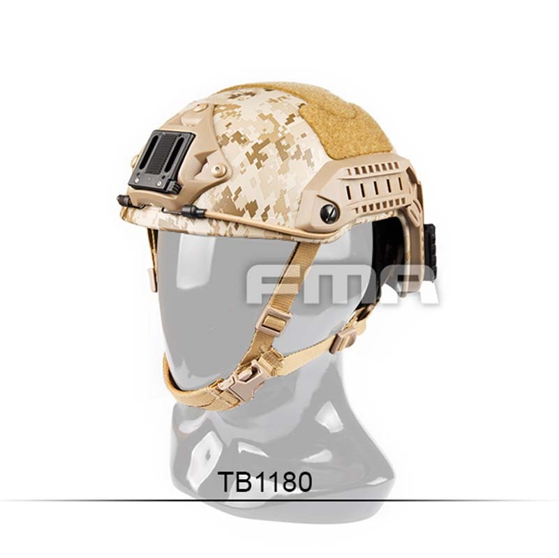 FMA New Desert Camouflage Maritime Helmet AOR1 TB1180 M/L L/XL for Airsoft Climbing 2015 new kryptek typhon pilot fast helmet airsoft mh adjustable abs helmet ph0601 typhon