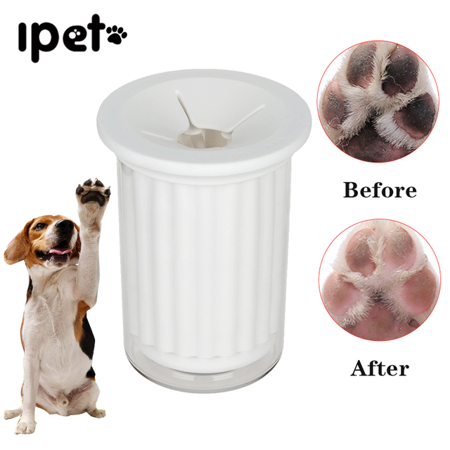 Hoopet Pet Foot Washer Cup Soft Gentle Silicone Bristles Pet Clean