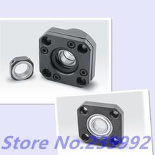 SFU1204 Ballscrew 1pcs FK10 ו 1pcs FF10 כדור בורג 12mm 1204 ballscrew סוף תמיכה 3D מדפסת חלקי cnc חלקי