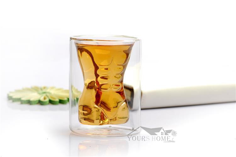 1pcs 160ml Creative Vodka Shot Glass Drinking Ware for Home Office Bar Sets in Beer Steins from Home Garden