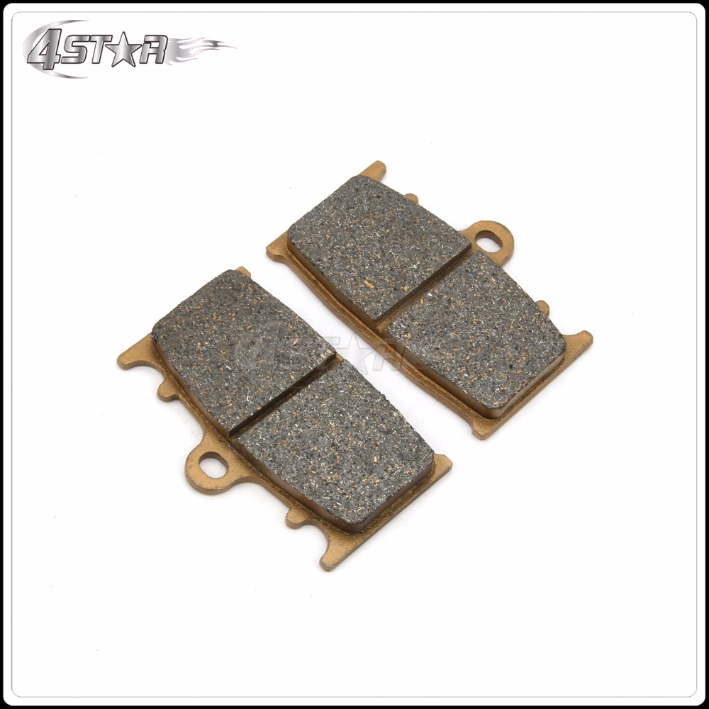 Cyleto Front and Rear Brake Pads for Kawasaki VN1700 VN 1700 Vulcan 1700 Voyager 2009 2010 2011 2012 2013 2014 2015 2016