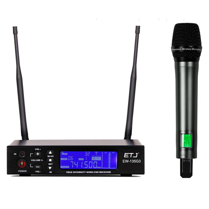 100% Top Quality EW135G3 Hot Sales Professional Wireless single handheld mic EW100G3 UHF/PLL Wireless Microphone for Stage long term sales top quality 100