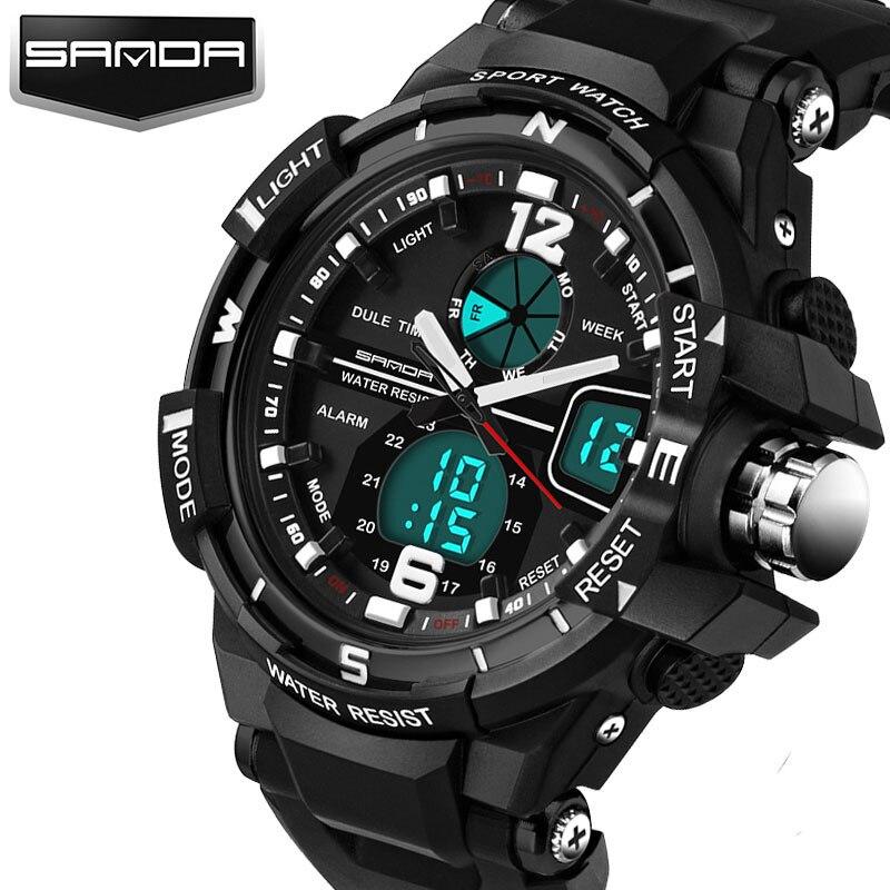 SANDA Top LED Digital Children Watch Kids Watches Girls Boys Clock Child Wristwatch Sport Wrist watch